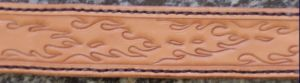 Flamed Belt